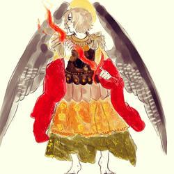 Archangel Uriel by Rosiana