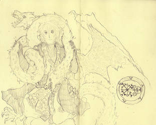 Solomon and the Dragon by Rosiana
