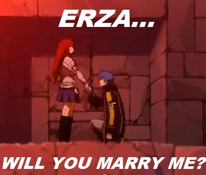 Jellal and Erza_Marry Me? by StarfireGrace1998