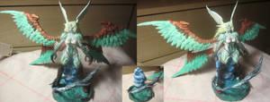 FFXIV Garuda sculpture (Primal boss)