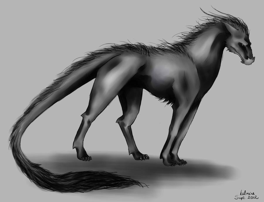 Dark creature by kalmine
