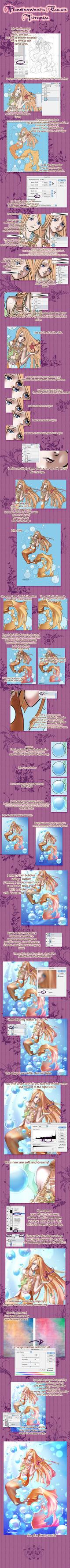 Coloring tutorial - BIG FILE by pinkhimawari