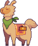 Llama for the adventure