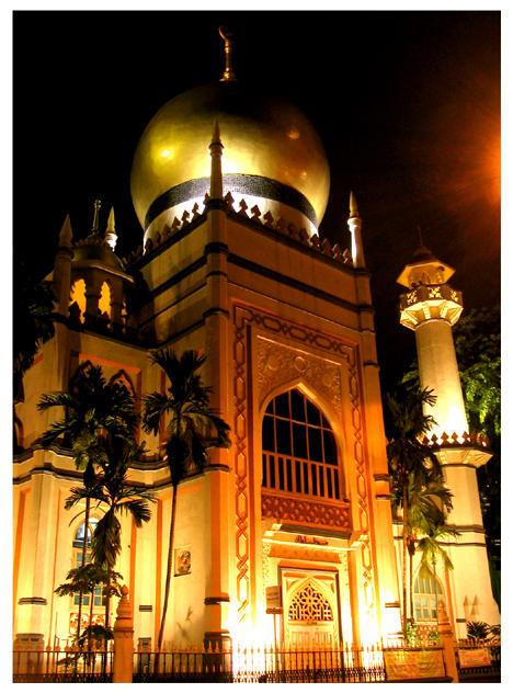 Sultan Mosque by BernZ