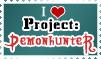 I Love Demonhunter Stamp by jagris
