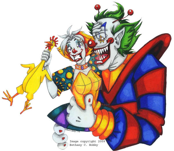 Killer klowns enklownter by cartoonkiss on deviantart for Killer klowns 2