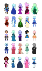 Sapphire Adopts (18/25 OPEN) by p0ssum-adopts