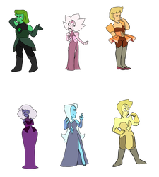 Diamond Adopts (5/6 OPEN) by p0ssum-adopts