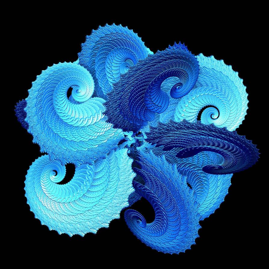Spatial Interlocking Spirals