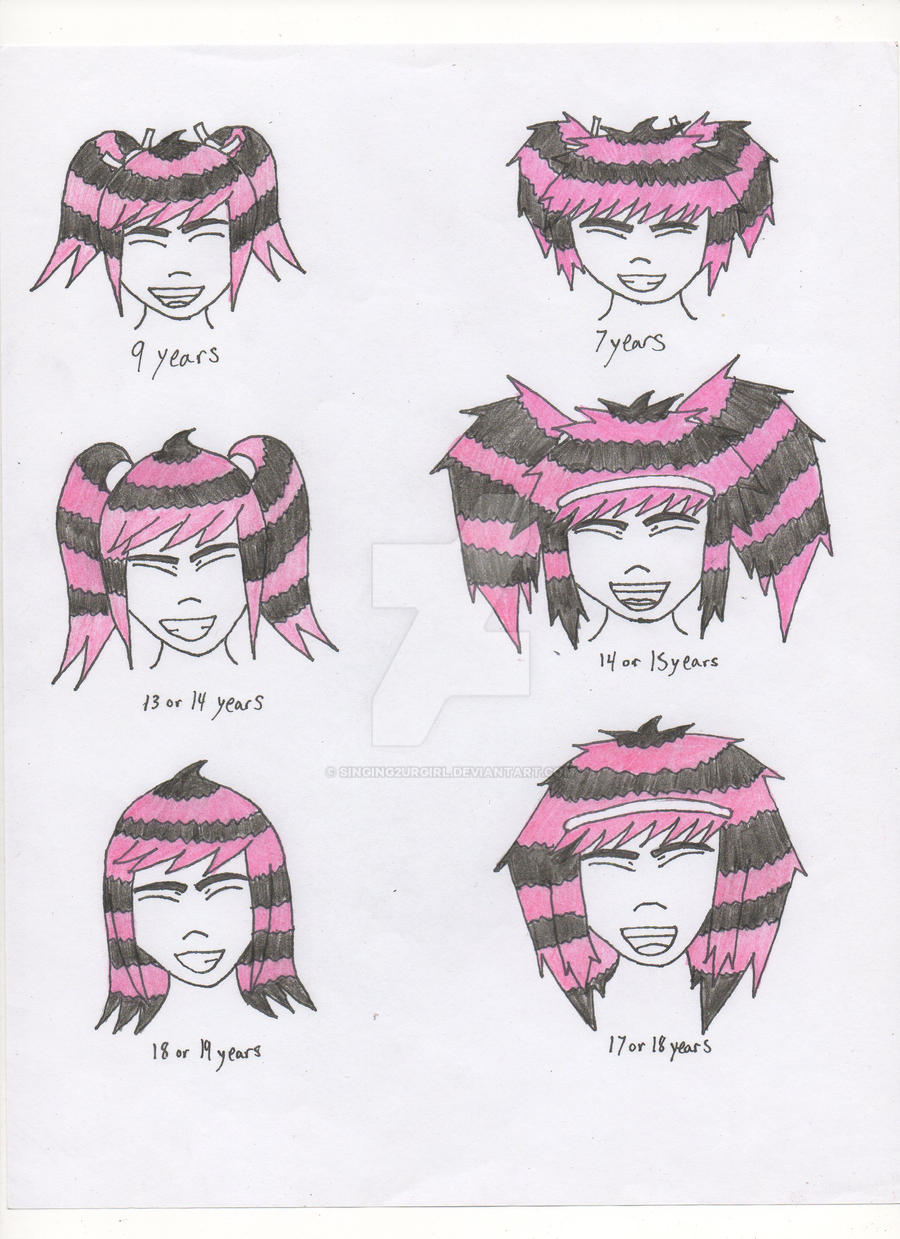 Emiko Hair Design Raccoon Tail 2 By Singing2urgirl On Deviantart