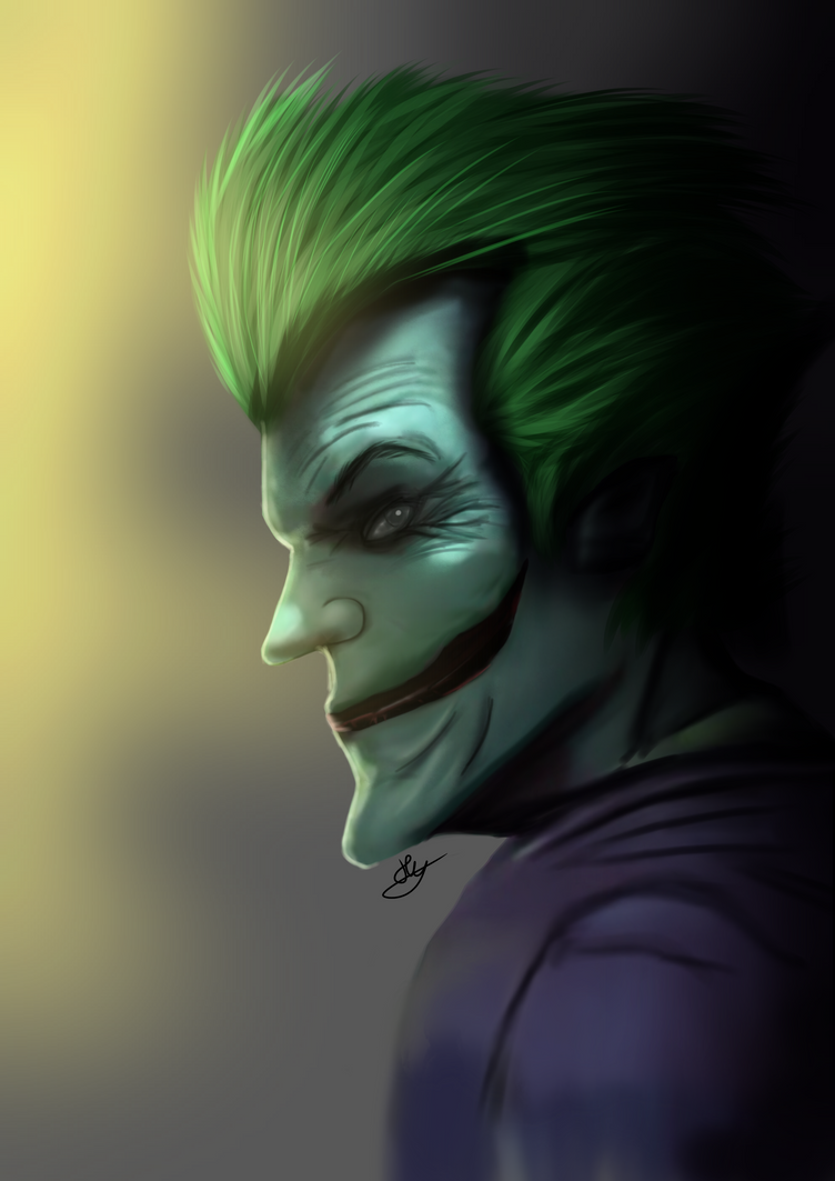 Do you like my beautiful smile? - The Joker by Hypnotunez
