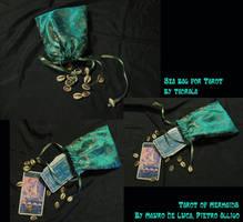 Sea Bag for Mermaid Tarot by tadrala