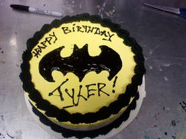 Batman Cake by Whatsername1987