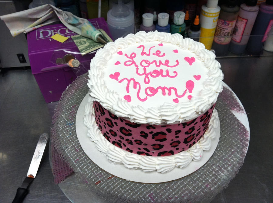 Images Of B Day Cake For Mom : Mother s Day Cake by Whatsername1987 on DeviantArt