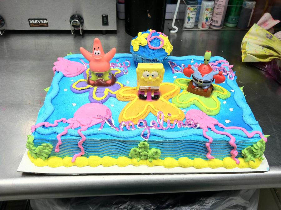 spongebob_cake_by_whatsername1987-d3l91bv.jpg (900x672 ...