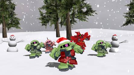 MMD Christmas Robot