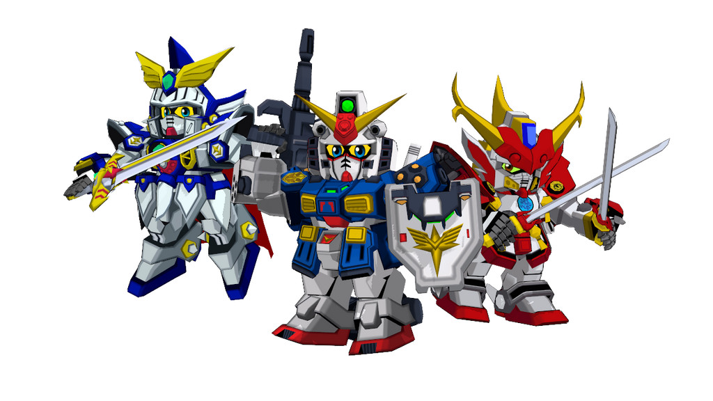 Gundam Force Pack by blazeraptor