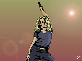 Shakira wallpaper by roychin