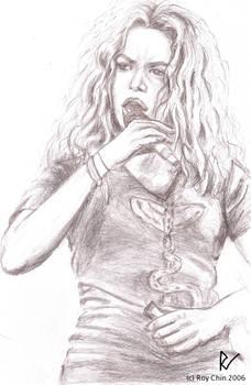 Shakira singing