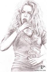 Shakira singing by roychin