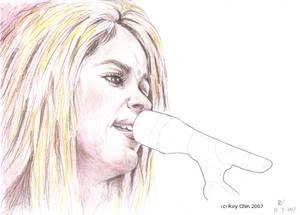 Shakira singing inevitable