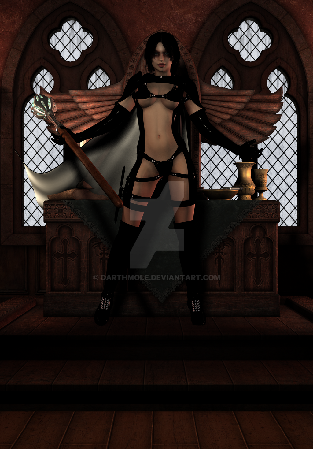 Dark Enchantress by darthmole