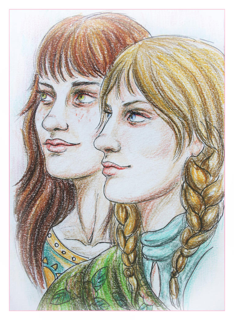 Sisters by HelevornArt