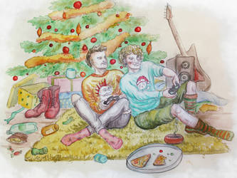 Merry Idleness by HelevornArt