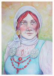 Commission: Gerda by HelevornArt