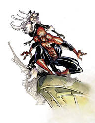 Eric Canete Spiderman BlackCat by M-Atiyeh