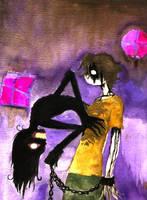 when inner demons gain control by EllinoreFay