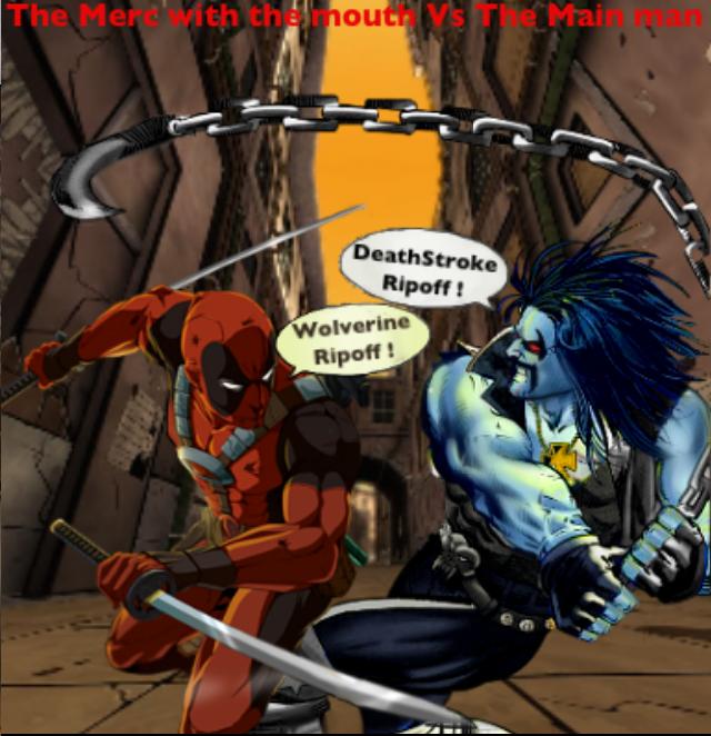 Deadpool Vs Deathstroke Comic