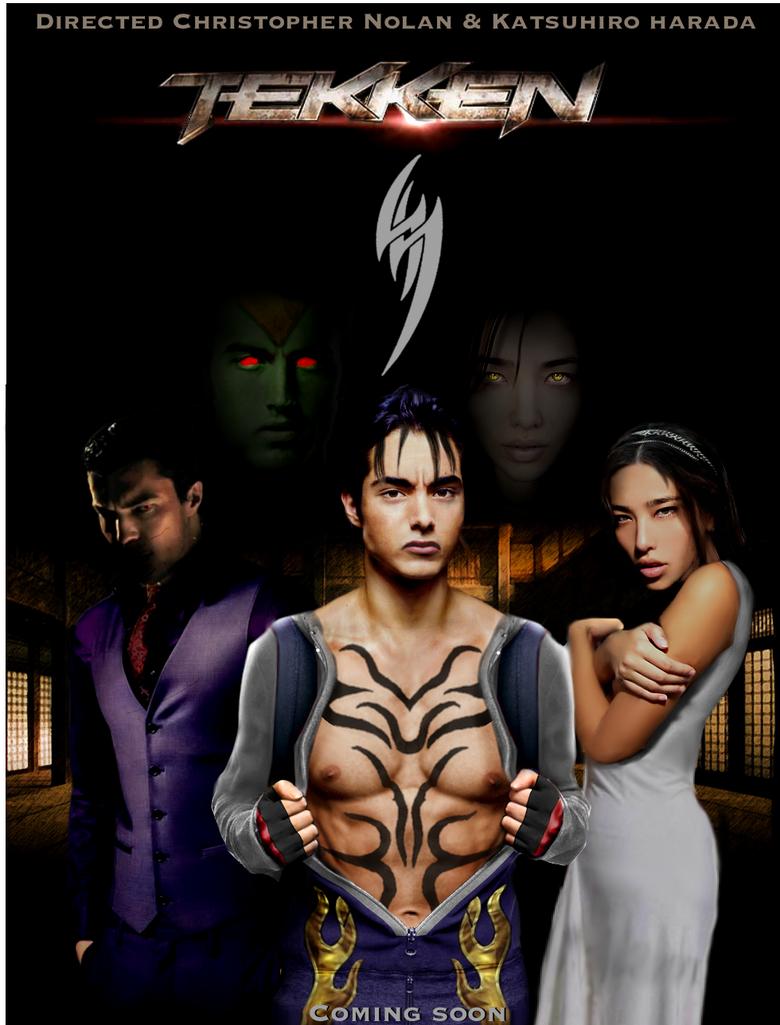 tekken jin poster movie by tonyantwonio on deviantart