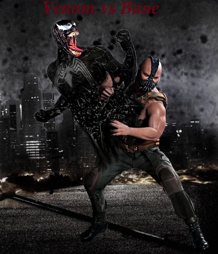 Venom Vs Bane Wallpape...