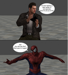 Injustice clash: Frank west vs Spider-man