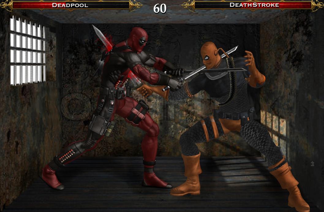 Deadpool Vs Deathstroke By Tony Antwonio