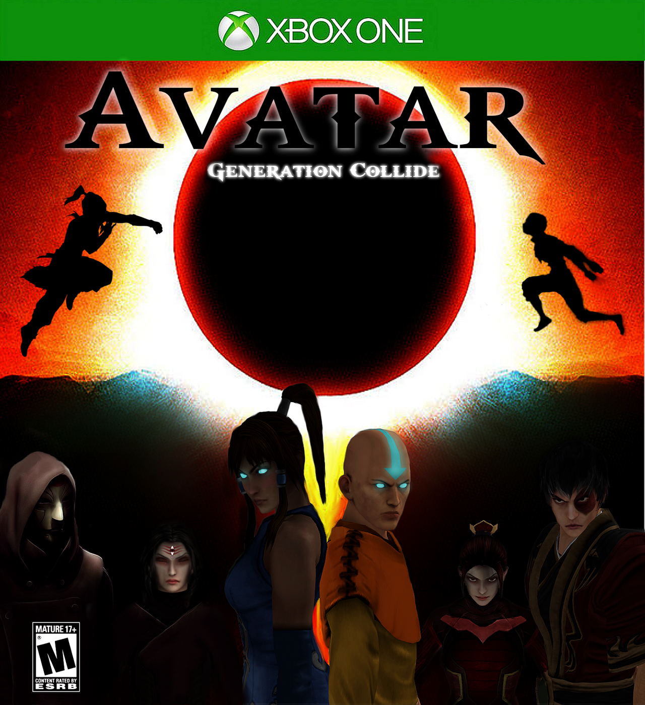 Avatar Fighting Game: Avatar: Generation Collide (Video Game) By Tony-Antwonio