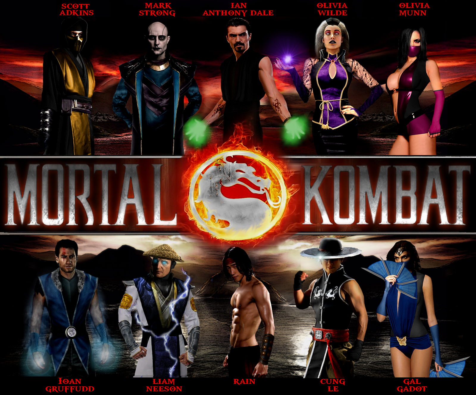 Mortal Kombat Movie (2014) by Tony-Antwonio on DeviantArt