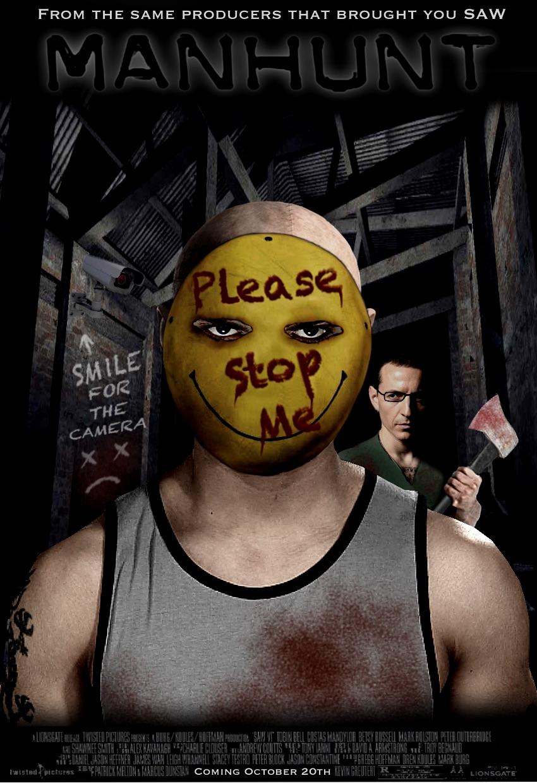 ManHunt Movie Poster By Tony-Antwonio On DeviantArt