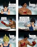 MKX Intros: Kazuya vs Vegeta