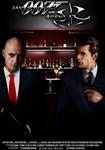 James Bond vs Agent 47 movie poster
