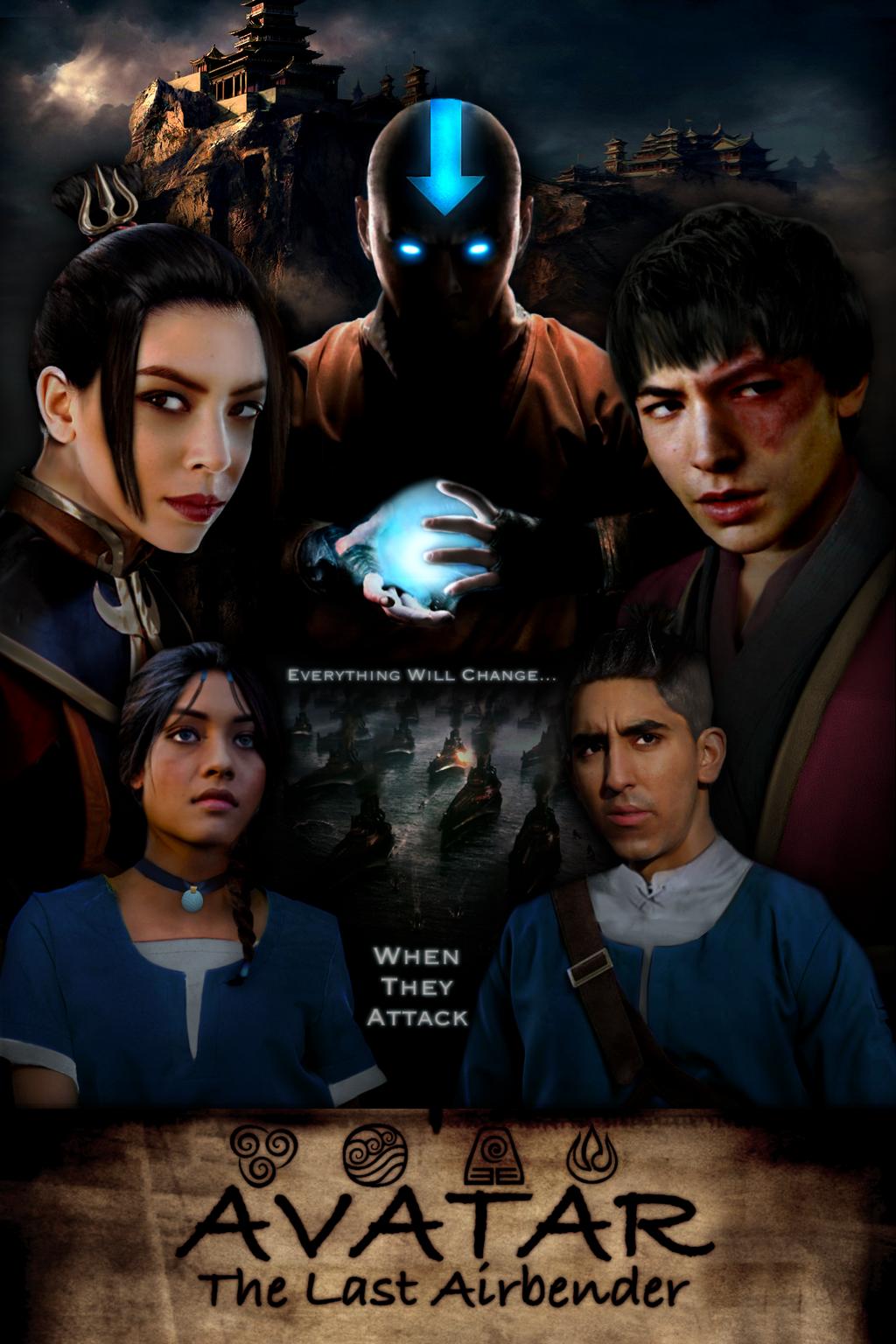 Movie art on Avatar-ATLA-Fans - DeviantArt  Avatar The Last Airbender 2 Movie