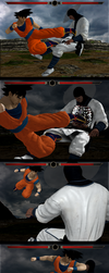 Goku X Ray Move by Tony-Antwonio