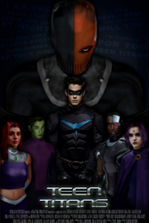 Teen Titans: Movie Poster by Tony-Antwonio