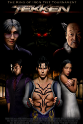 Tekken Live Action Movie Poster by Tony-Antwonio