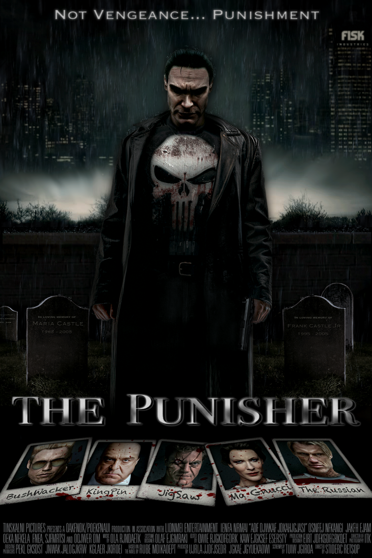 The Punisher Movie Poster By Tony Antwonio On Deviantart