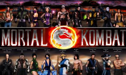 Mortal Kombat Live Action Cast by Tony-Antwonio