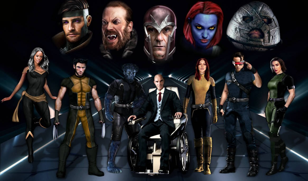 MCU X-Men Recast by Tony-Antwonio