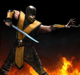 Live Action Scorpion (MK)