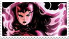 Scarlet Witch Stamp by SamoanVampCatt